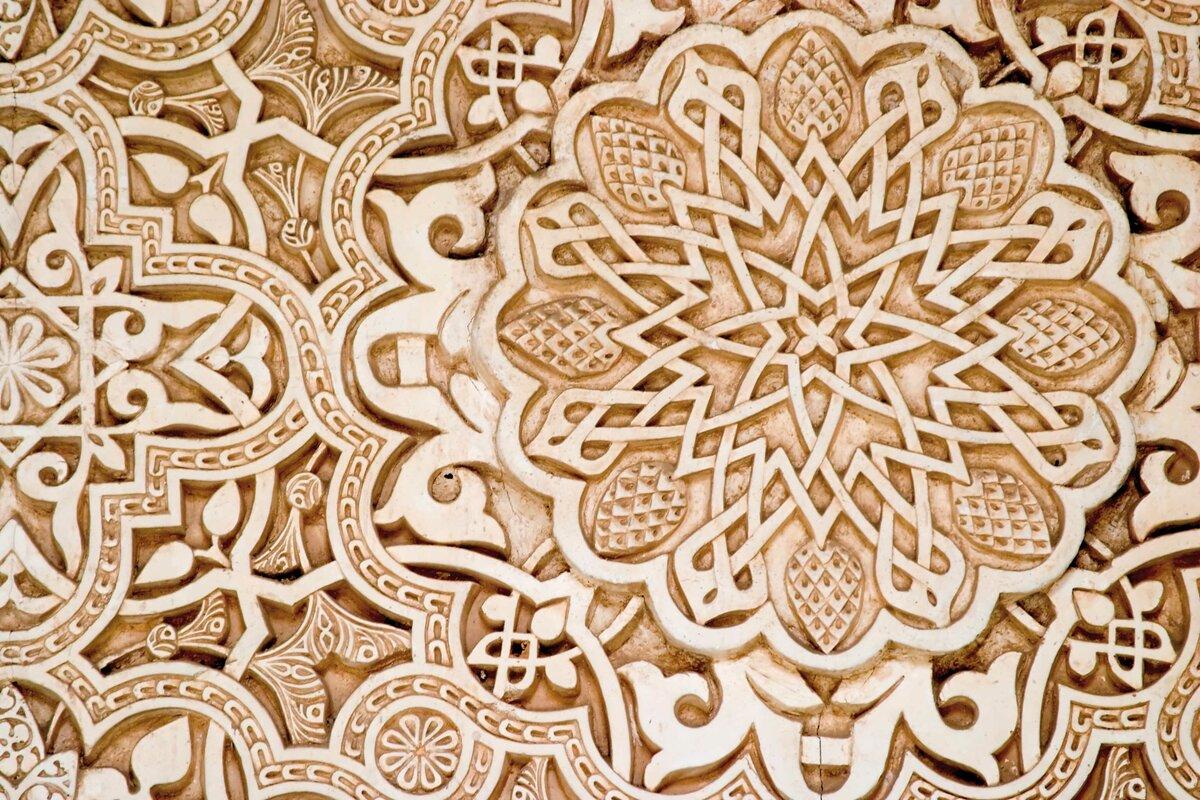 التماثل الكلي في زخارفنا الإسلامية شرح مفصل