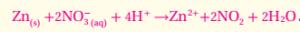 استعمل طريقة نصف التفاعل لوزن معادلات