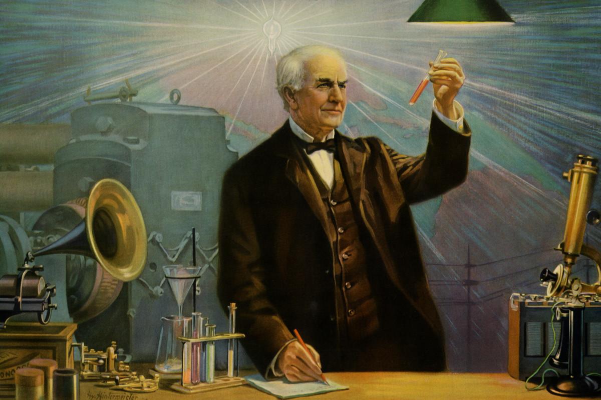 ابتكر أديسون نظام خاص