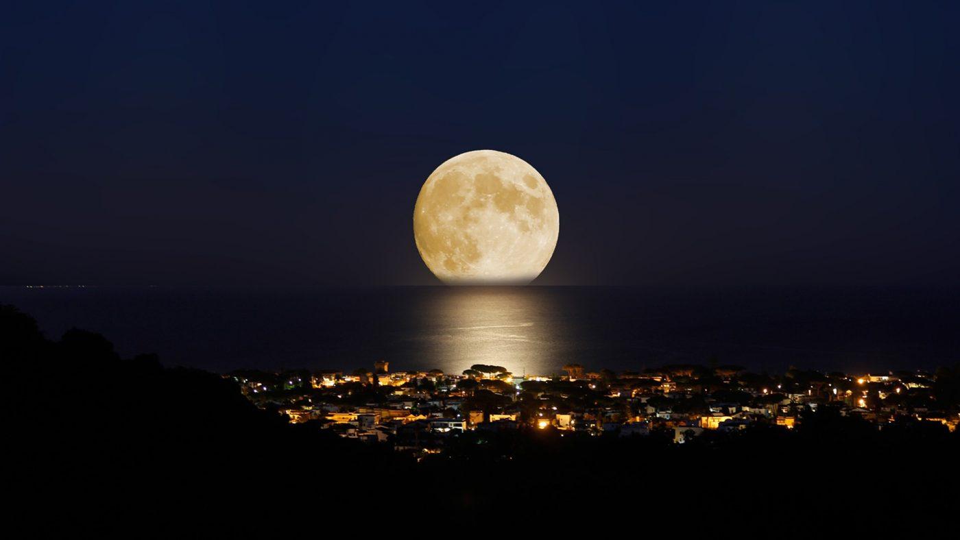 ما هو القمر العملاق في السعودية