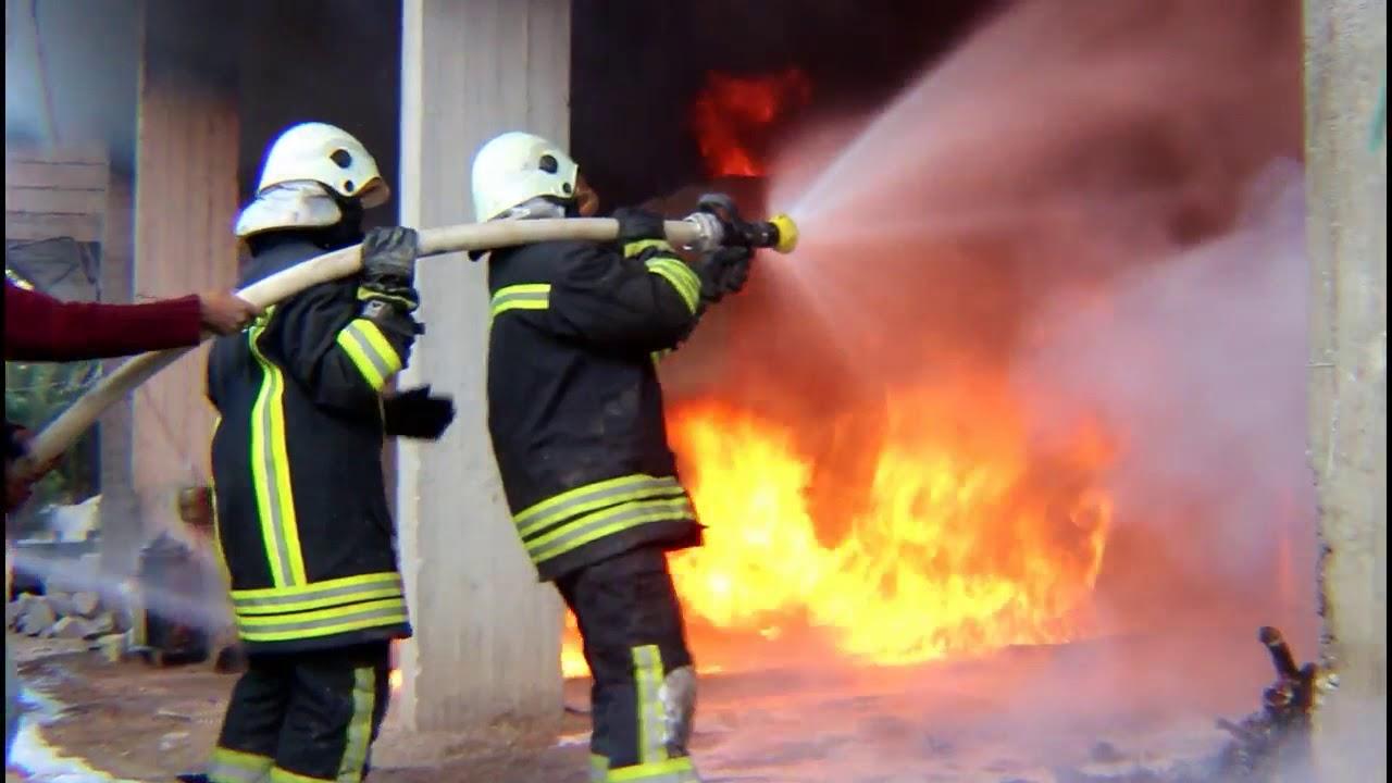ما سبب حريق عسير