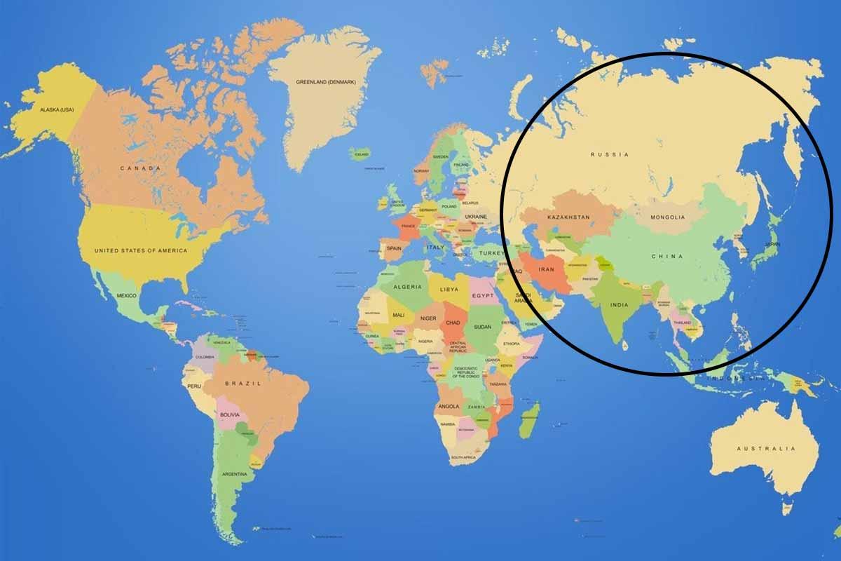 أكبر قارات العالم مساحة
