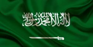 صف علم المملكة العربية السعودية